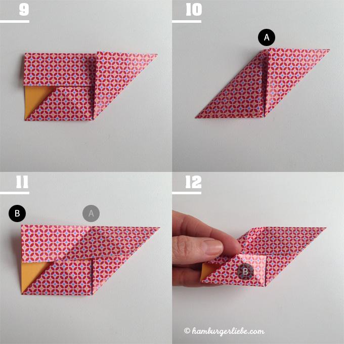 tutorial tuesday heute mal am mittwoch papierw rfel falten und das novembergrau vertreiben. Black Bedroom Furniture Sets. Home Design Ideas